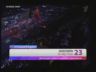 Jade Ewen - It's My Time (Eurovision 2009: Final)