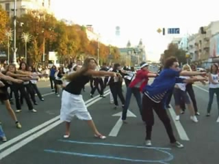 Michael Jackson Dance Tribute in Kiev, Ukraine